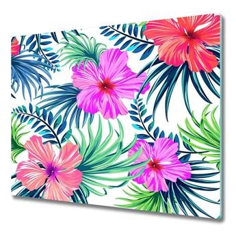 Deska do krojenia Hawajskie kwiaty