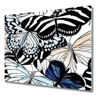 Deska do krojenia Motyle i kwiaty