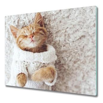 Deska do krojenia Kotek w swetrze