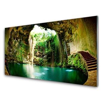 Obraz Akrylowy Wodospad Krajobraz Woda