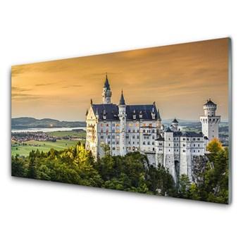 Obraz Akrylowy Pałac Góry Krajobraz