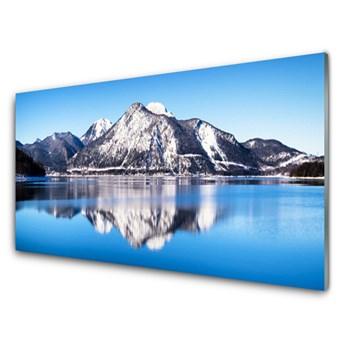 Obraz Akrylowy Jezioro Góry Krajobraz