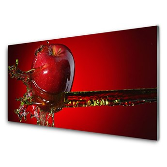Obraz Akrylowy Jabłko Woda Kuchnia