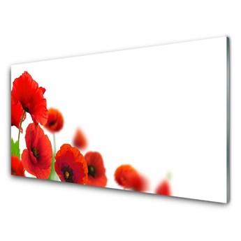 Obraz Akrylowy Czerwone Maki Natura