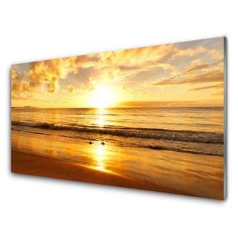 Obraz Akrylowy Morze Słońce Krajobraz