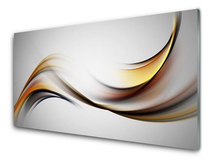 Obraz Akrylowy Abstrakcja Grafika Kolor Szary Pomieszczenie Salon