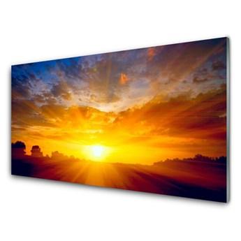 Obraz Akrylowy Słońce Niebo Krajobraz