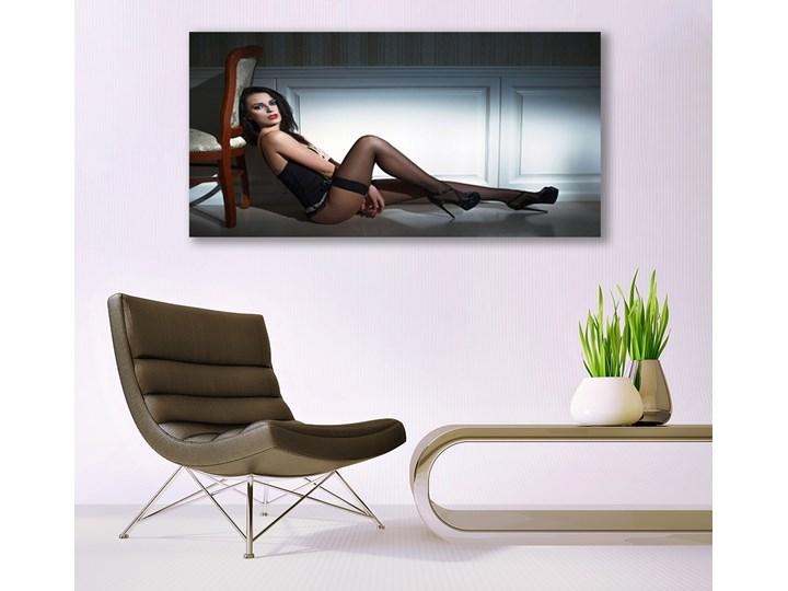 Obraz Akrylowy Kobieta Akt Pomieszczenie Salon Wykonanie Wydruk cyfrowy