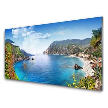 Obraz Akrylowy Zatoka Góry Morze Krajobraz