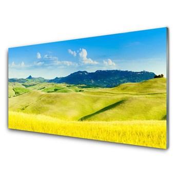 Panel Szklany Wieś Góry Krajobraz
