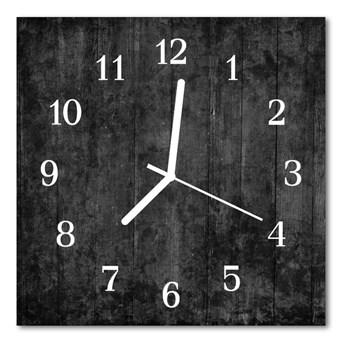 Zegar ścienny kwadrat Drewno