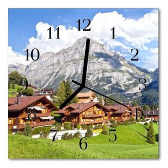 Zegar ścienny kwadrat Góry