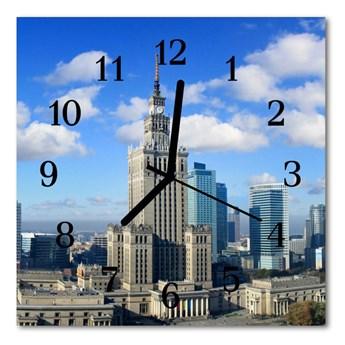 Zegar ścienny kwadrat Warszawa