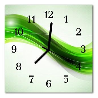 Zegar szklany kwadratowy Abstrakcja