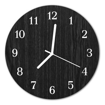 Zegar ścienny okrągły Drewno
