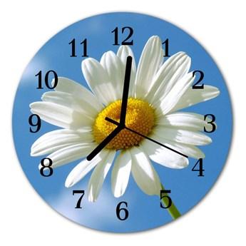 Zegar ścienny okrągły Kwiat