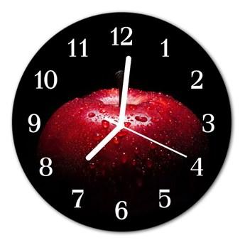 Zegar ścienny okrągły Jabłko
