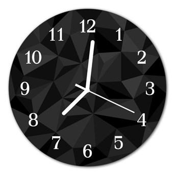 Zegar ścienny okrągły Wzór 3d