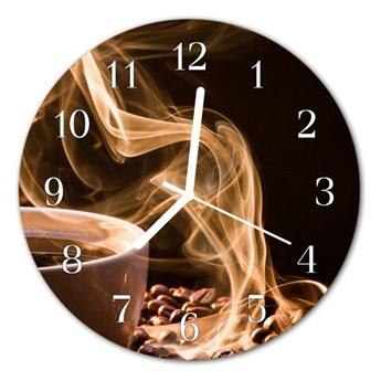 Zegar ścienny okrągły Kubek do kawy
