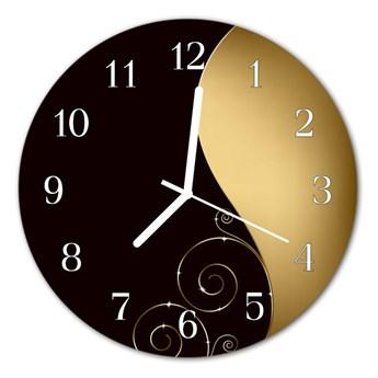 Zegar ścienny okrągły Sztuka abstrakcyjna