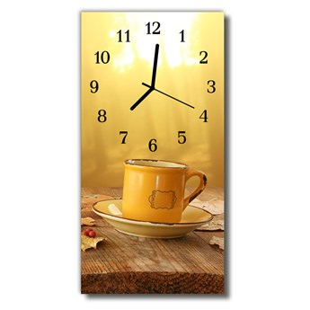 Zegar Szklany Pionowy Kuchnia Puchar złoto