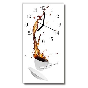 Zegar Szklany Pionowy Kuchnia Kawa filiżanka kolorowy