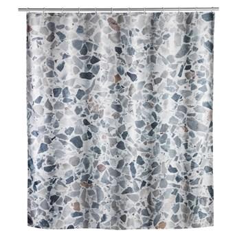Zasłona prysznicowa odpowiednia do prania Wenko Terrazzo, 180x200 cm