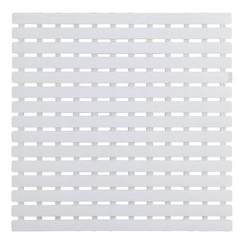 Biała mata prysznicowa Wenko Arinos, 54x54 cm