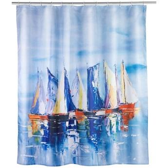 Zasłona prysznicowa Wenko Sailing, 180x200 cm