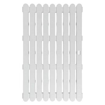Biała wycieraczka odpowiednia na zewnątrz Wenko , 80x50 cm