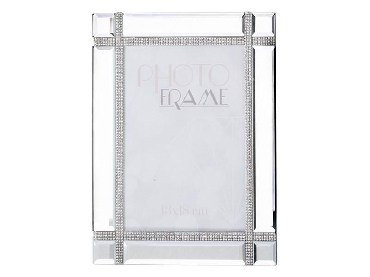 Lustrzana ramka na zdjęcia Habo 23x18 cm Kolor Szary Kategoria Ramy i ramki na zdjęcia