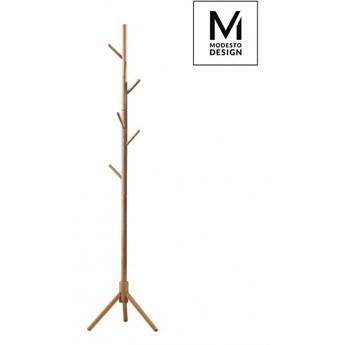 MODESTO wieszak stojący STICK naturalny - drewno bukowe kod: 281.NATURAL