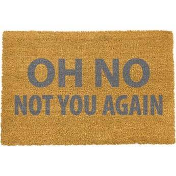 Wycieraczka Artsy Doormats Oh No Not You Again Grey, 40x60 cm