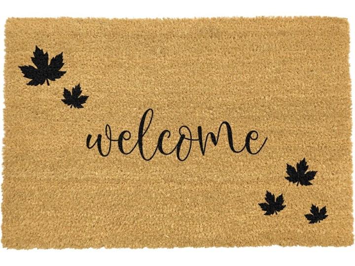 Wycieraczka z naturalnego włókna kokosowego Artsy Doormats Welcome Autumn, 40x60 cm Włókno kokosowe Kategoria Wycieraczki
