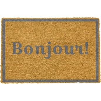 Wycieraczka Artsy Doormats Bonjour Grey, 40x60 cm