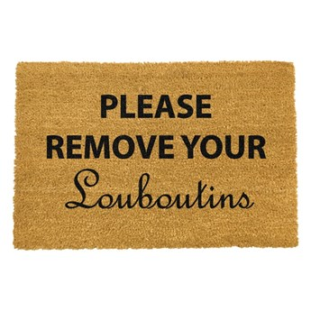 Wycieraczka Artsy Doormats Your Louboutins, 40x60 cm