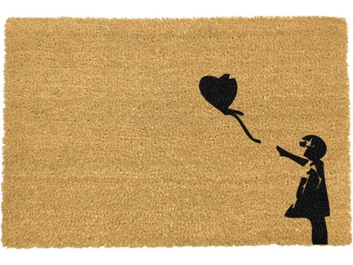 Wycieraczka z naturalnego włókna kokosowego Artsy Doormats Girl with a Balloon Graffiti, 40x60 cm Włókno kokosowe Kategoria Wycieraczki