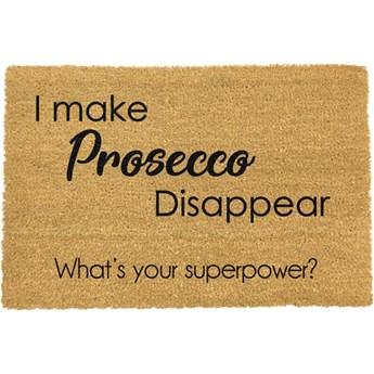 Wycieraczka Artsy Doormats I Make Prosecco Disappear, 40x60 cm