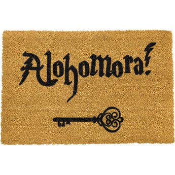 Wycieraczka z naturalnego kokosowego włókna Artsy Doormats Alohomora, 40x60 cm