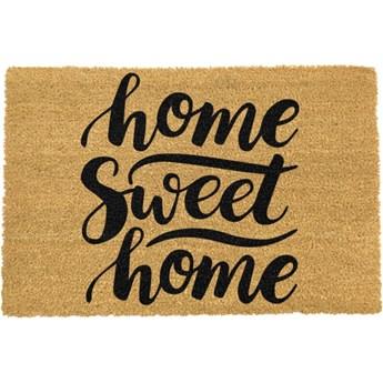 Wycieraczka z naturalnego włókna kokosowego Artsy Doormats Home Sweet Home, 40x60 cm
