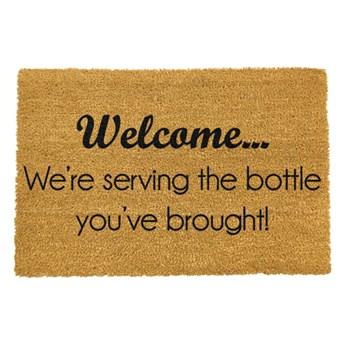 Wycieraczka Artsy Doormats Bottle You've Brought, 40x60 cm