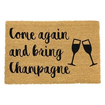 Wycieraczka Artsy Doormats Bring Champagne, 40x60 cm