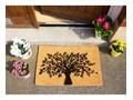 Wycieraczka z naturalnego kokosowego włókna Artsy Doormats Tree of Life, 40x60 cm Włókno kokosowe Kategoria Wycieraczki