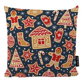 Poduszka ze świątecznym motywem Butter Kings Mr. Gingerbread, 45x45