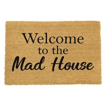 Wycieraczka Artsy Doormats Welcome To The Mad House, 40x60 cm