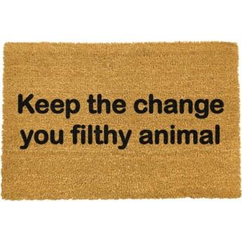 Wycieraczka Artsy Doormats Keep The Change, 40x60 cm