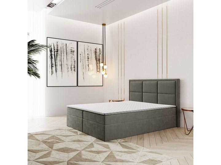 ŁÓŻKO KONTYNENTALNE 160X200 ROMA Łóżko tapicerowane Rozmiar materaca 160x200 cm