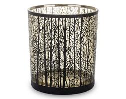 Czarny świecznik na tealight Fedo 10 cm
