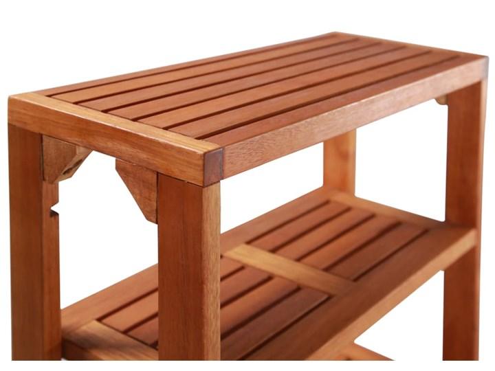 Zestaw drewnianych mebli ogrodowych - Jill Drewno Stoły z krzesłami Styl Nowoczesny