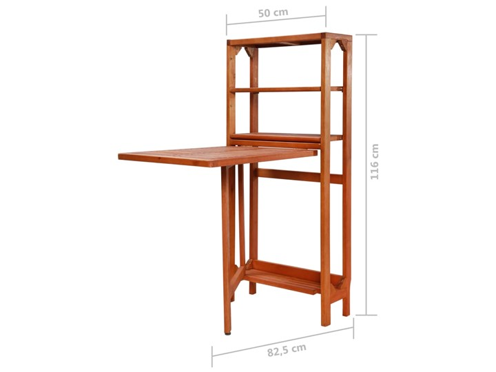 Zestaw drewnianych mebli ogrodowych - Jill Stoły z krzesłami Drewno Styl Nowoczesny